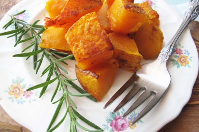 AIP / Oven Roasted Butternut Squash with Cinnamon