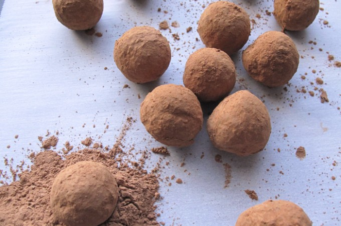 AIP / Paleo Coconut and Carob Truffles (dairy-free and nut-free)