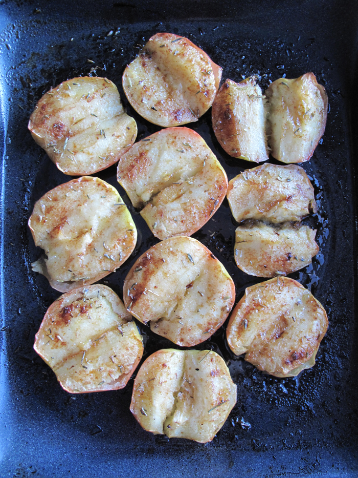 AIP / Paleo Honey Lavender Oven Baked Apples - A Squirrel in the Kitchen