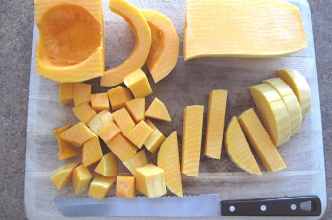 How to Cut and Peel Butternut Squash?