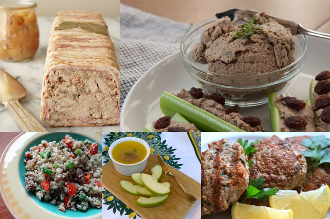 AIP / Paleo Organ Meats and Offal Recipe Round-Up – Liver Pâtés, Meatballs, Burgers and more!