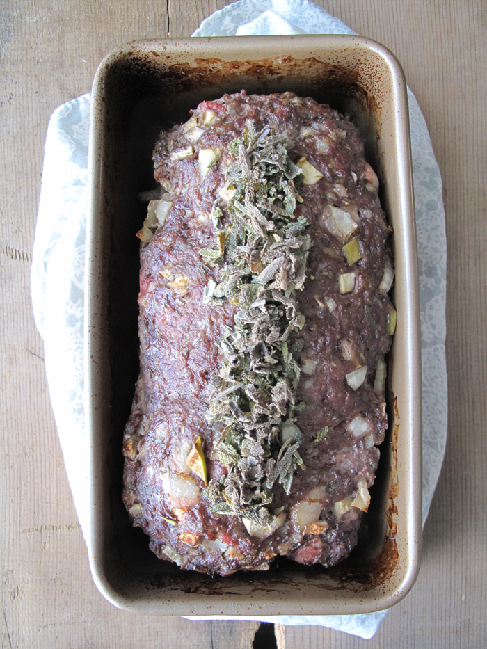 AIP / Paleo Apple & Sage Elk Meatloaf