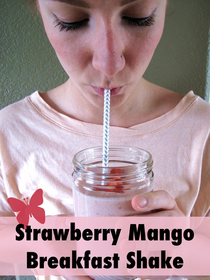 AIP / Paleo Strawberry Mango Breakfast Shake
