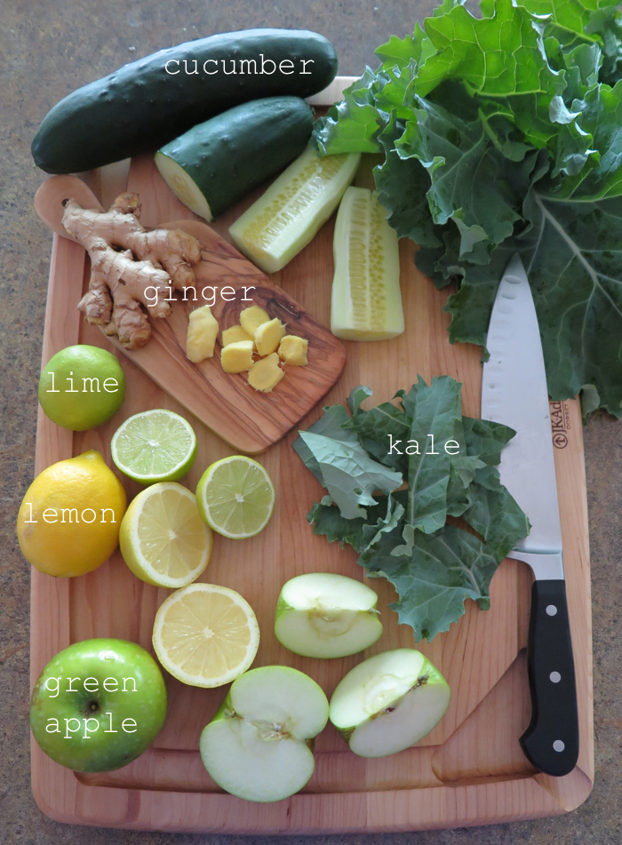 AIP / Paleo Immune Boosting Green Detox Smoothie - A Squirrel in the Kitchen
