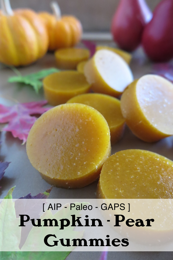 Pumpkin-Pear Gummies (AIP, Paleo, GAPS) - A Squirrel in the Kitchen