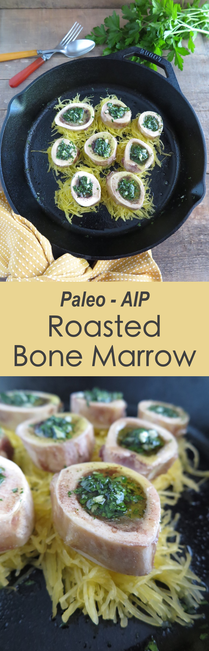 Roasted Bone Marrow (AIP, Paleo, GAPS)