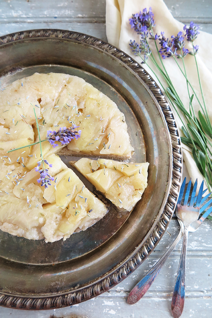 Tatin-Style Apple and Lavender Upside-Down Cake (AIP, Paleo, Instant Pot)