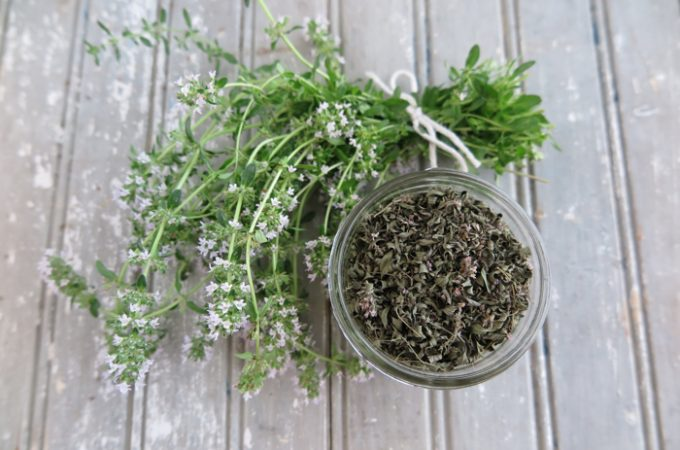 How to Oven Dry Fresh Herbs?