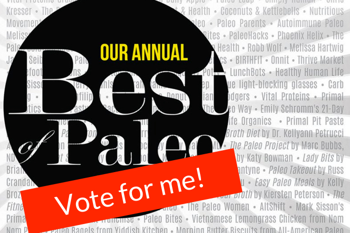 Simple French Paleo Nominated for the Paleo Magazine Best Of 2016 Award!