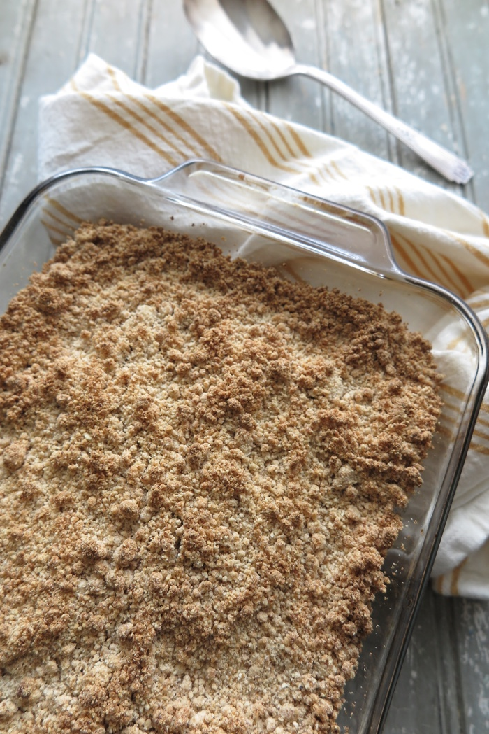 Easy and Healthy Apple Crumble [Gluten-Free-Oat-Free-Paleo-AIP]