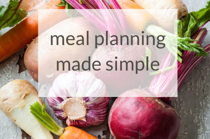 Meal Planning Made Simple with Real Plans