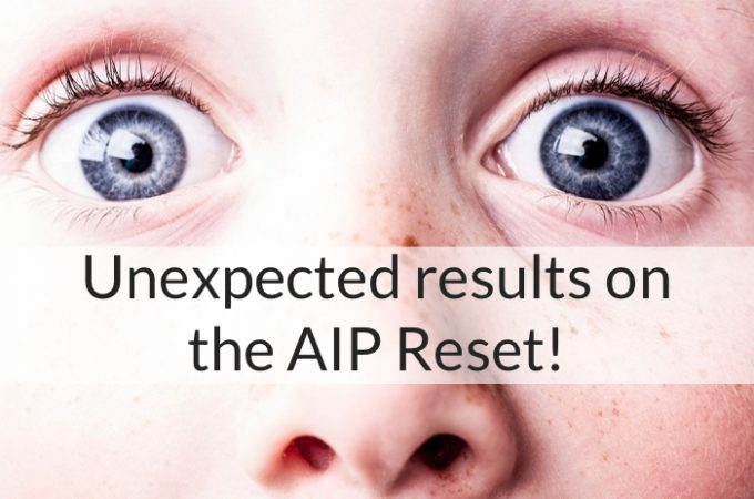 Unexpected Results on the AIP Reset Program!