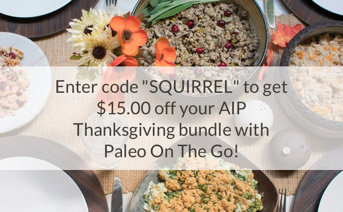 No-Fuss Paleo AIP Thanksgiving with POTG!