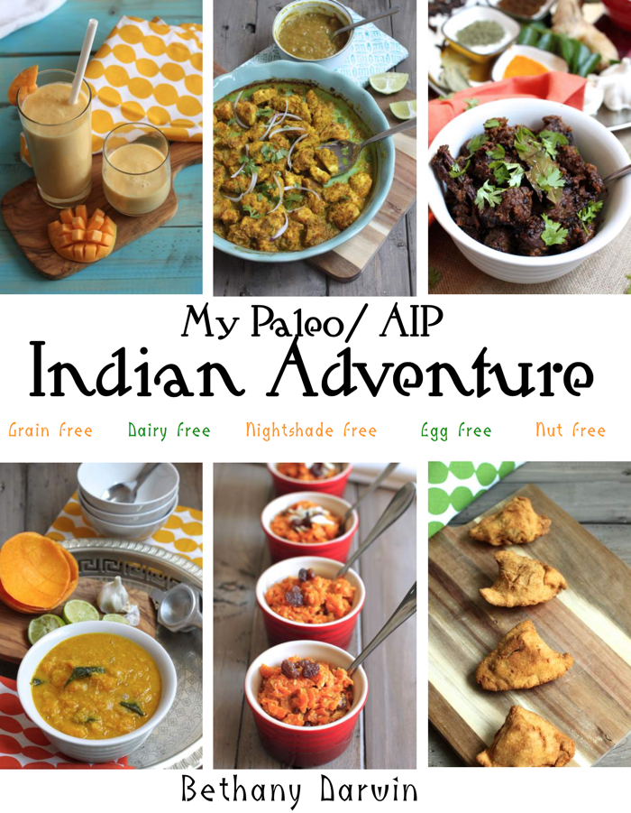 Giveaway of My Paleo/AIP Indian Adventures Cookbook