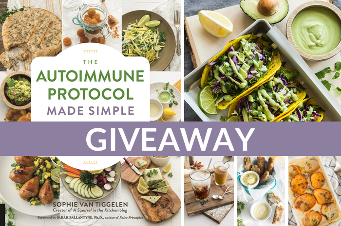 The Autoimmune Protocol Made Simple Cookbook Pre-Order Giveaway