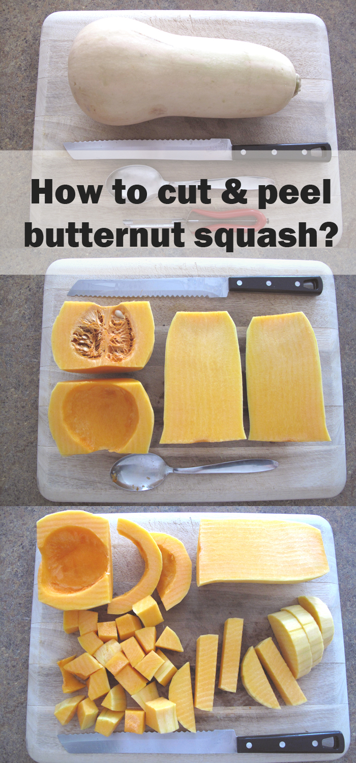 Watch How to Cube Butternut Squash video