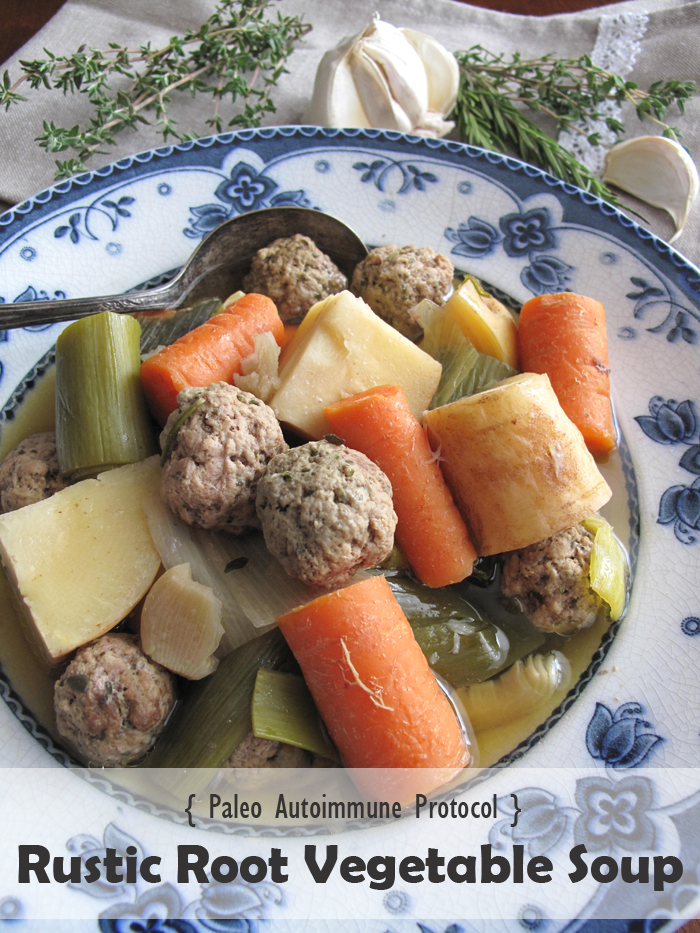 Aip Paleo Rustic Root Vegetable Soup