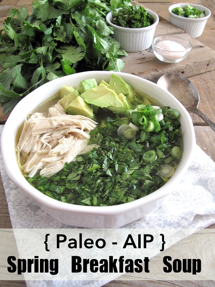 Aip Spring Breakfast Chicken Soup Slow Cooker Paleo Recipe A