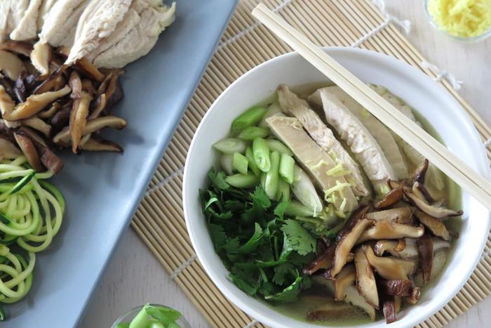 Chicken Pho [ Paleo - AIP - Gluten Free ]