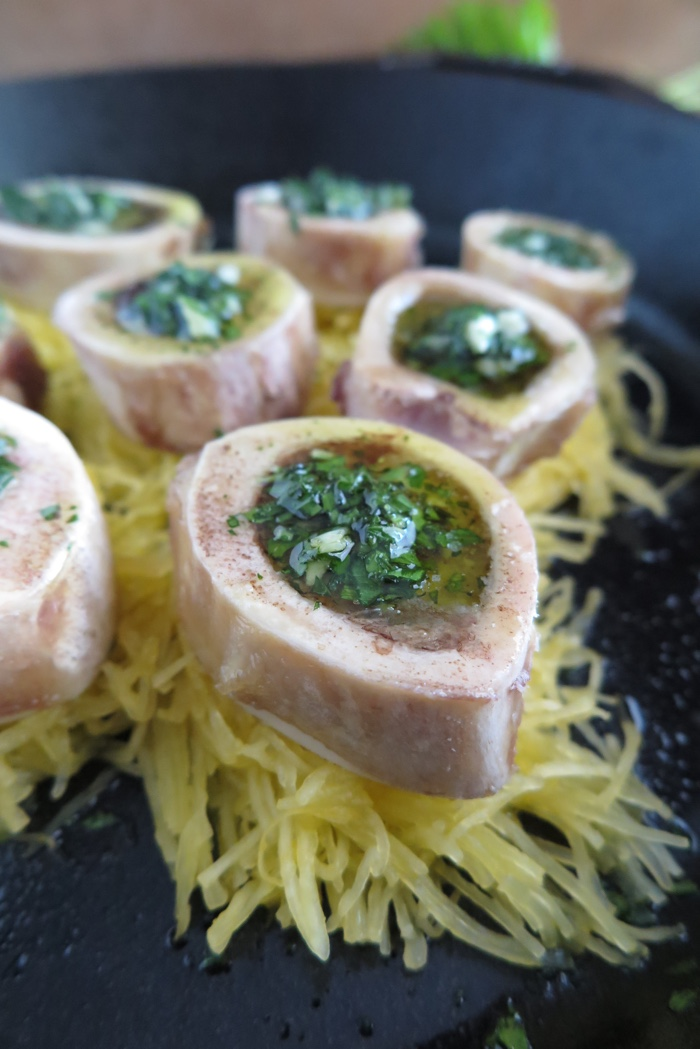 Roasted Bone Marrow Aip Paleo Gaps A Squirrel In The Kitchen
